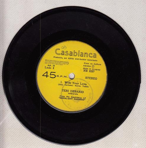 1979 musica disco teri de sario simple vinilo uruguay unico