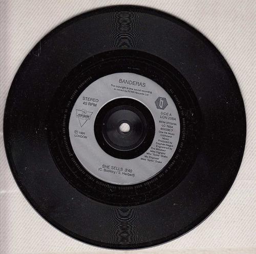 1991 dance simple vinilo uk banderas she sells 2 versiones