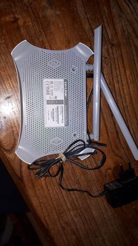 2 antenas router 3g tp-link mr3420 300mbps 4 puertos lan