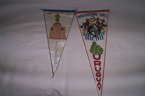2 banderines tacuarembo y uruguay.leer..