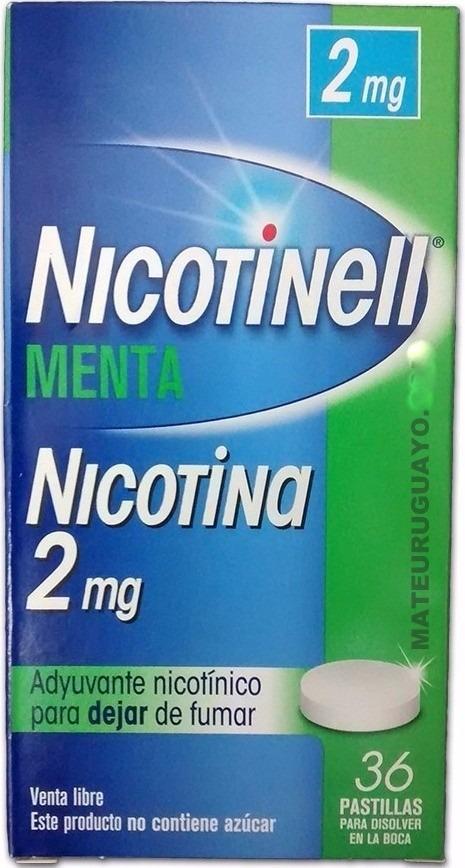 2 Cajas 2mg Pastillas De Nicotina Dejar De Fumar