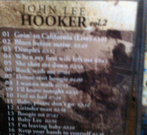 2 cds lo mejor de john lee hooker