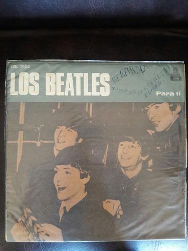 2 discos de vinilo the beatles