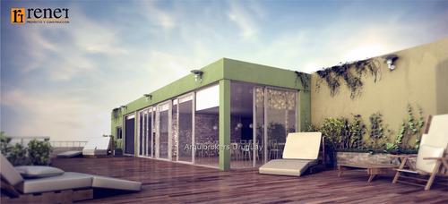 2 dormitorios con garaje incluido