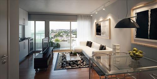 2 dormitorios vis con patio y terraza