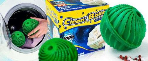 2 eco bola lavado ecológico de lavarropa sin jabón en polvo
