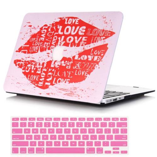 2 en 1 estuche de lápiz labial shell + cubierta del teclado