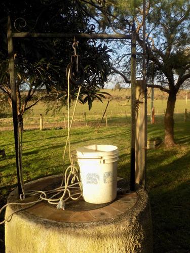 2 hectáreas y media con casa, galpón y arroyo, se financia !