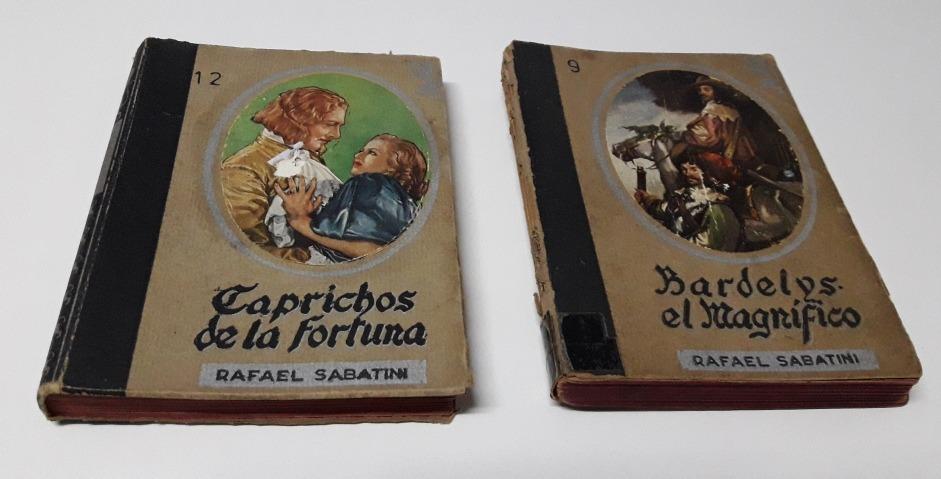 2 Libros Antiguos De Rafael Sabatiniaños 1948 Y 1949 42000 En