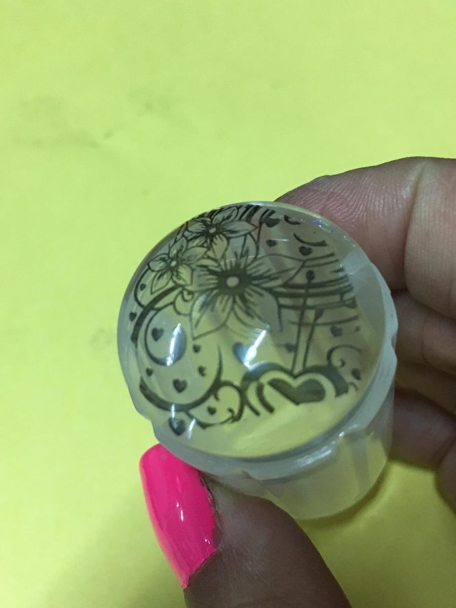 2 Set De Stamping. Decoracion De Uñas. Sello, Placa, Esmalte - $ 390 ...