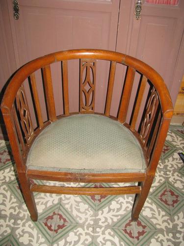 2 sillones antiguos de roble 1/2 punto