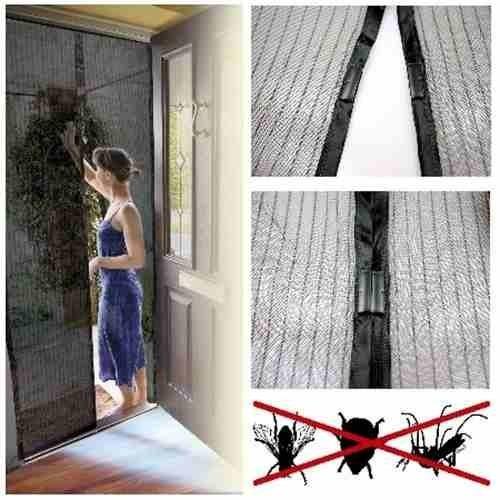 2 telas mosquiteira protetora insetos portas mosquito dengue