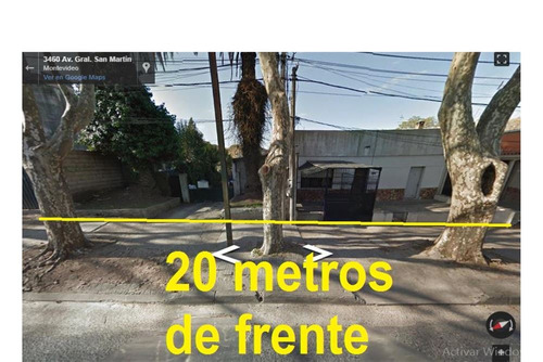 2 terrenos juntos en san martín 1060 m²