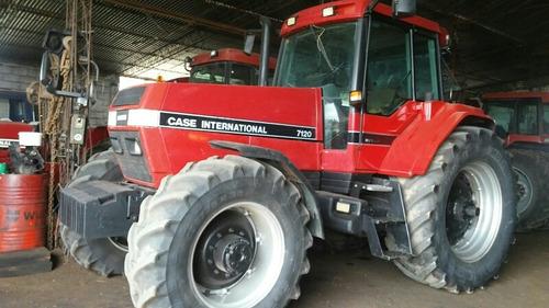 2 tractores case año 1994, 7120 y mx 270 año 2004