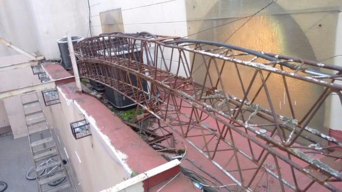 2 Vigas De Hierro Estructura Para Techo Parabolico 30x20 X 8