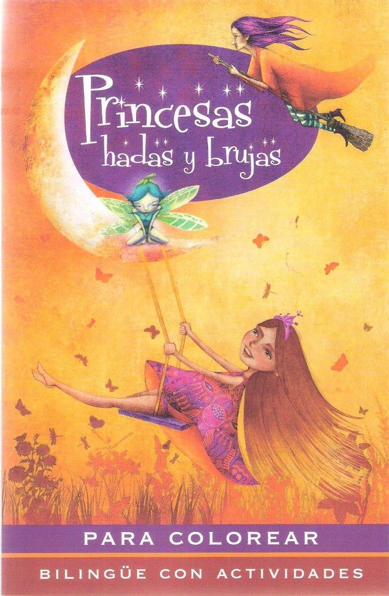 20 Libros Para Iluminar Princesas Hadas Brujas Fiestas Niñas ...