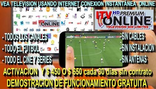 2.000 canales de television por internet