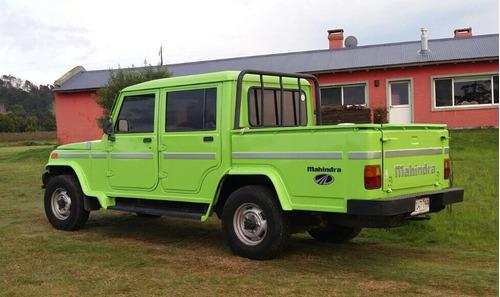 2007 mahindra 4x2 pick-up - muy buena condición. 127000km