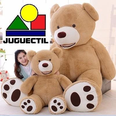 200cm aproximados peluches juguectil oso beige marron grande