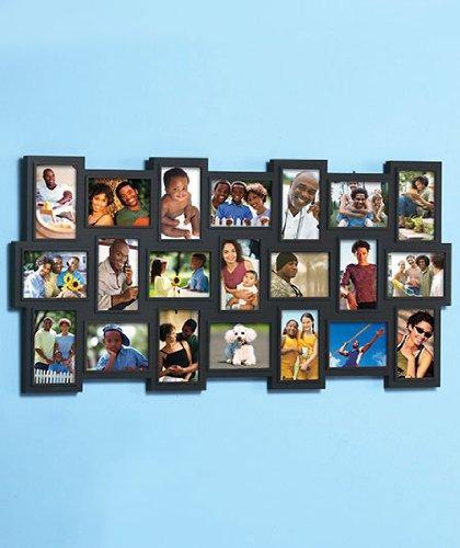 21-collage De La Foto Del Marco (negro) - $ 2.397,20 en Mercado Libre
