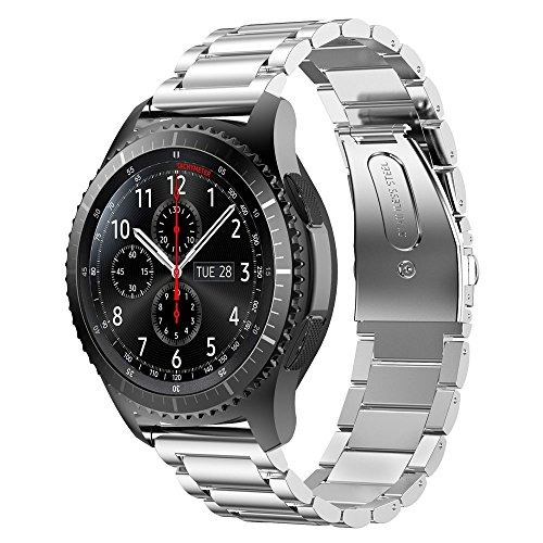 22mm samsung gear s3 classic band, gear s3 frontier band, ii