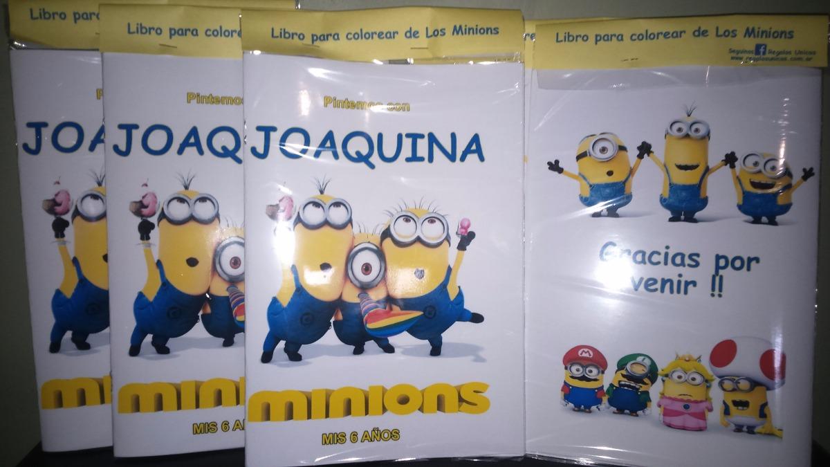 25 Libros Para Colorear 10x15 + Caja De Crayones Souvenir - $ 474,75 ...