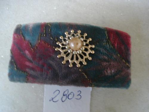 #2803# bijuteria antiga - presilha de cabelo com pérolas
