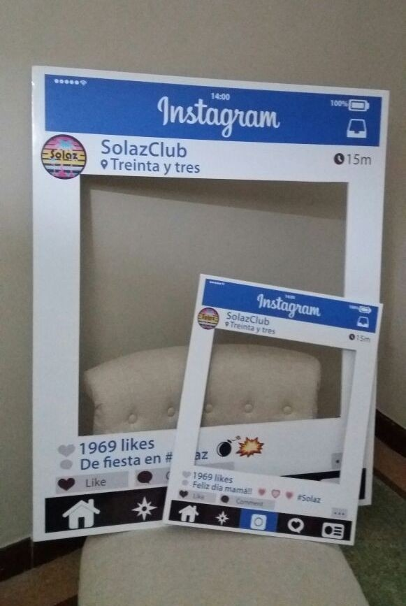 2x1 Marcos Fiestas Fotos Instagram Cumpleaños Bodas - $ 1.290,00 en ...
