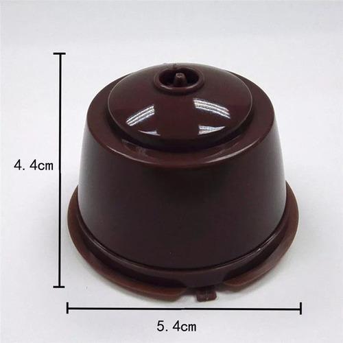 3 capsulas reutilizables dolcegusto café  leche en polvo 2x3