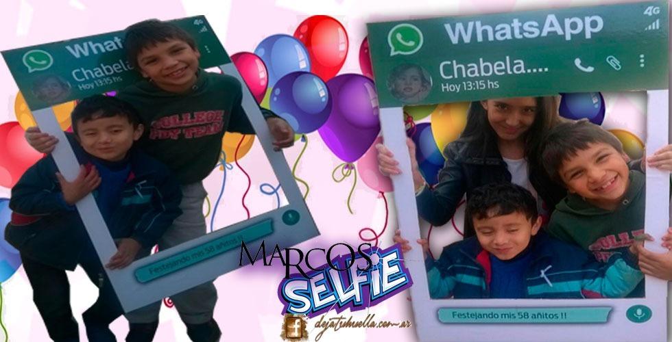 3 Marcos Selfies Grandes De Madera + 20 Props Personalizados ...
