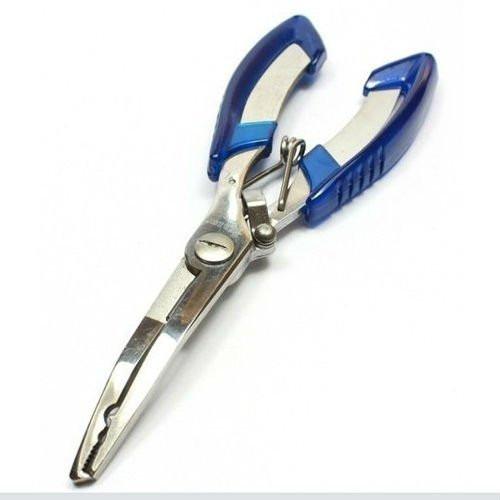 3 pinzas p/pesca acero inox. saca anzuelo, corta tanza,16 cm