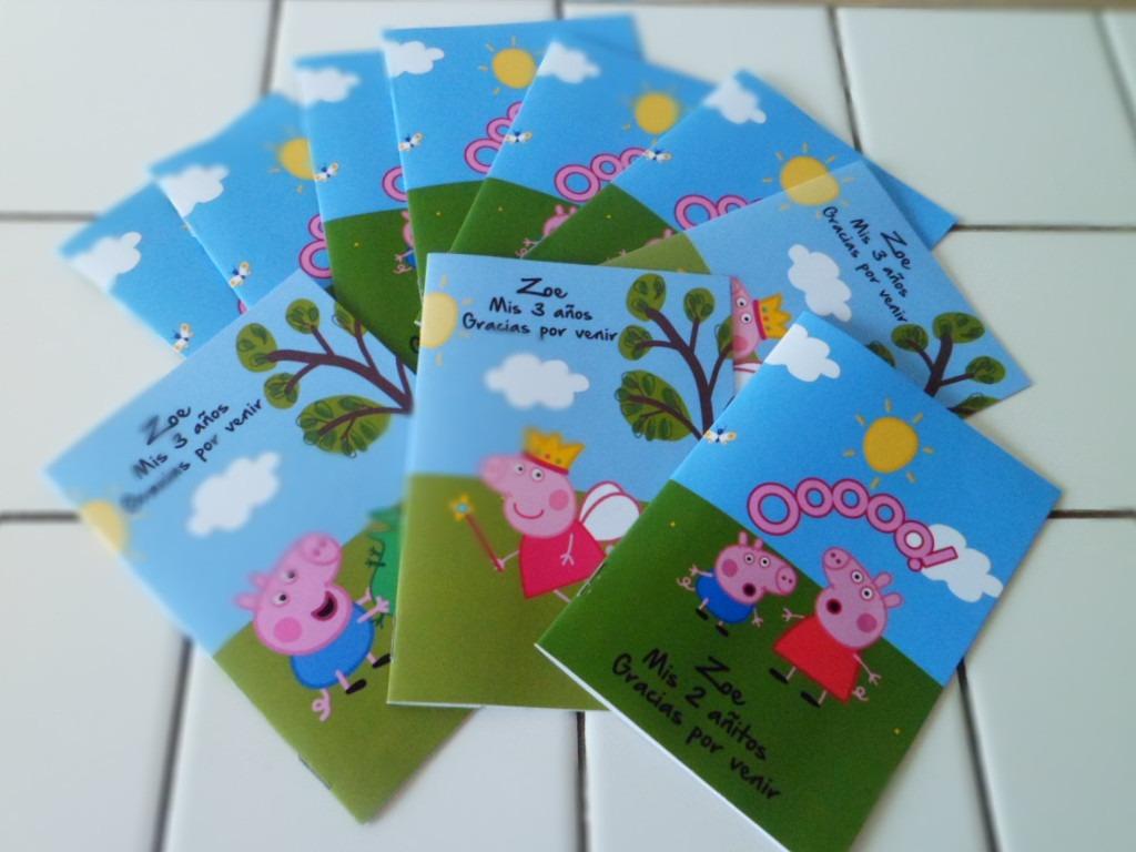 30 Libros Colorear 20x14 Y 30 Lapices X6 Peppa Pig Sur Lomas - $ 840 ...