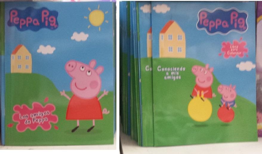 30 Libros Para Colorear 16 Pag Peppa Pig Premio Fiestas - $ 340.00 ...