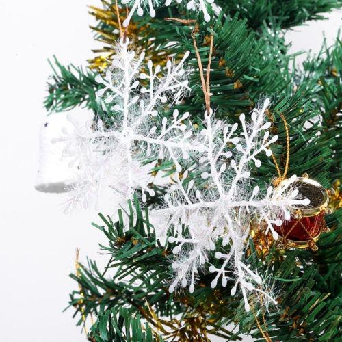 30pcspaquete De Copos De Nieve Decoración De Navidad árbol