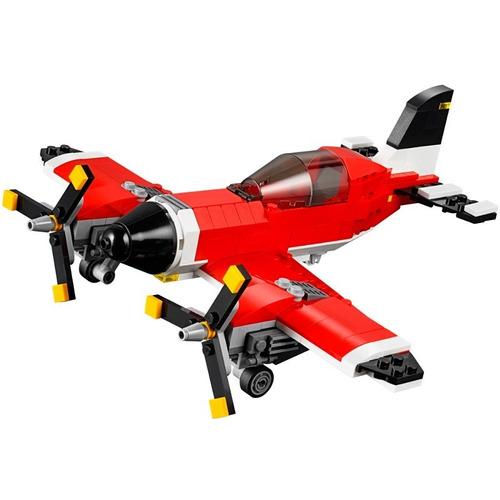 31047 lego creator 3 em 1 avião helicóptero hidroavião