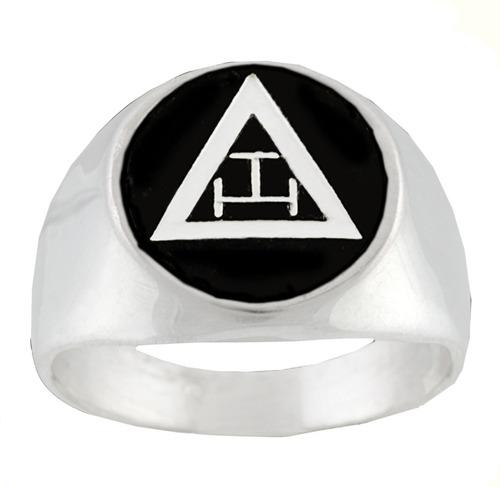 3362   anillo masónico  en plata de ley .925