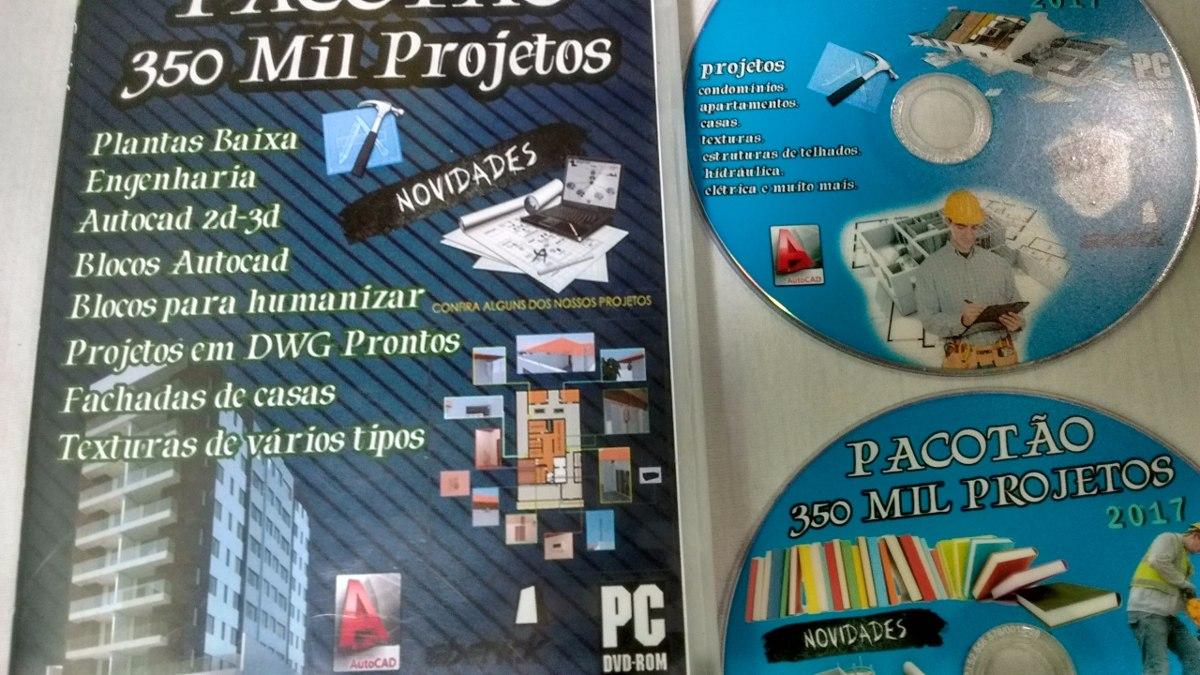 350 Mil Projetos Dwg Autocad R 25 00 Em Mercado Livre