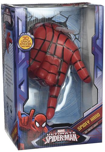 3dlightfx marvel spiderman hand 3d deco wall light 319974 en 3dlightfx marvel spiderman hand 3d deco wall light aloadofball Gallery