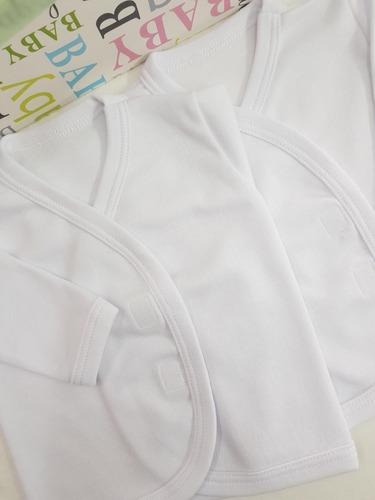 3x500 batitas de bebé new baby 100% algodón