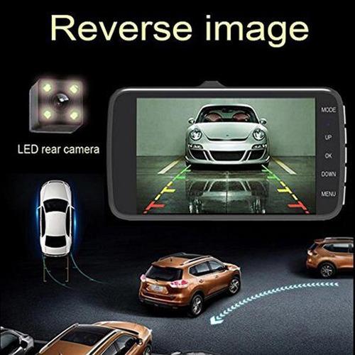 4  car 1080p hd  dual camaras, //  frente y reversa