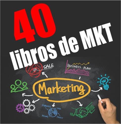 40 libros de marketing - pdf digital