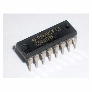 4017 cd4017 contador decadal cmos dip16 - pandatec