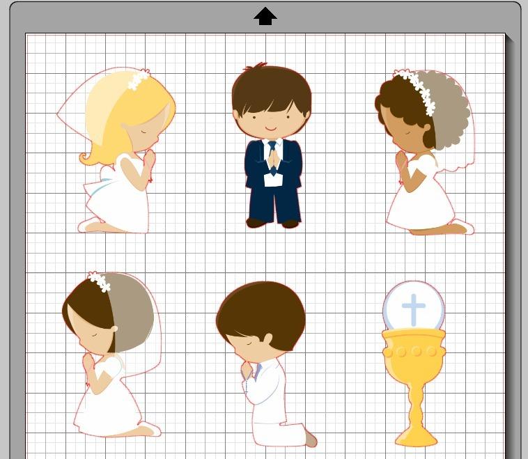44 Diseños Infantiles Print And Cut Silhouette Corte Archivo - $ 70 ...