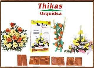 4moldes frizador tikas p/flores orquidea tul.y sus hojas