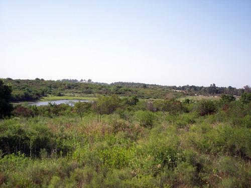 5 terrenos en block con vista a laguna balneario punta gorda