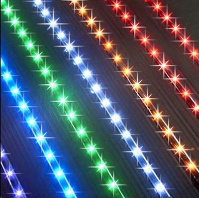 50 cm tira led 60 led por mt p/exterior cinta adhesiva pemai