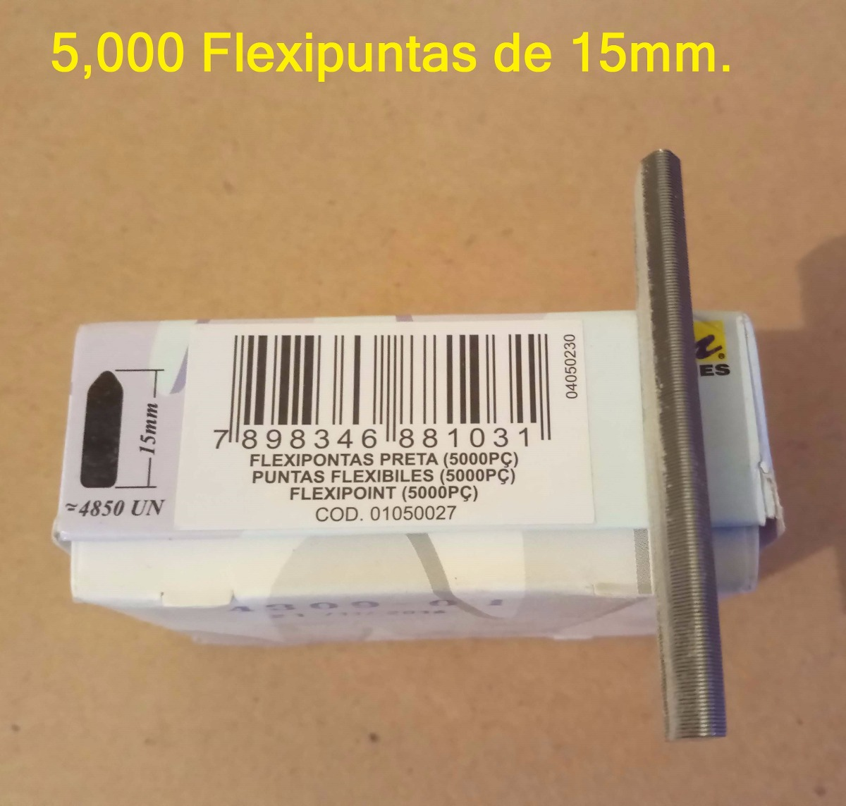 5,000 Flexipuntas, Grapas Flexibles, Inmes, Logan. - $ 649.00 en ...