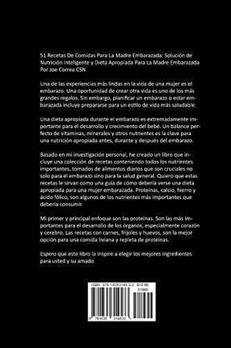 d0592d3a3 51 Recetas De Comidas Para La Madre Embarazada  Solucion De - U S 35 ...