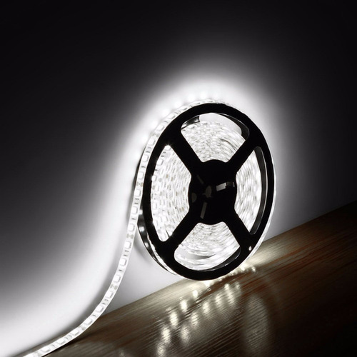 5m rollo tira cinta led 5050 blanco frio int/ext 60 led/m