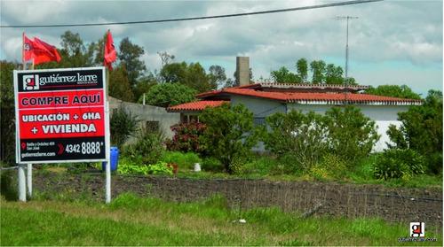 6 ha + 5.932 m² sobre ruta n 3, tierras agrícolas
